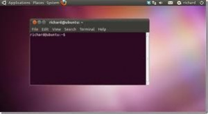 new terminal in Ubuntu