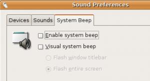 System Beep